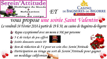 Massage Saint Valentin